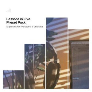 Wavetable & Operator pack Lessons in Live Ableton Live