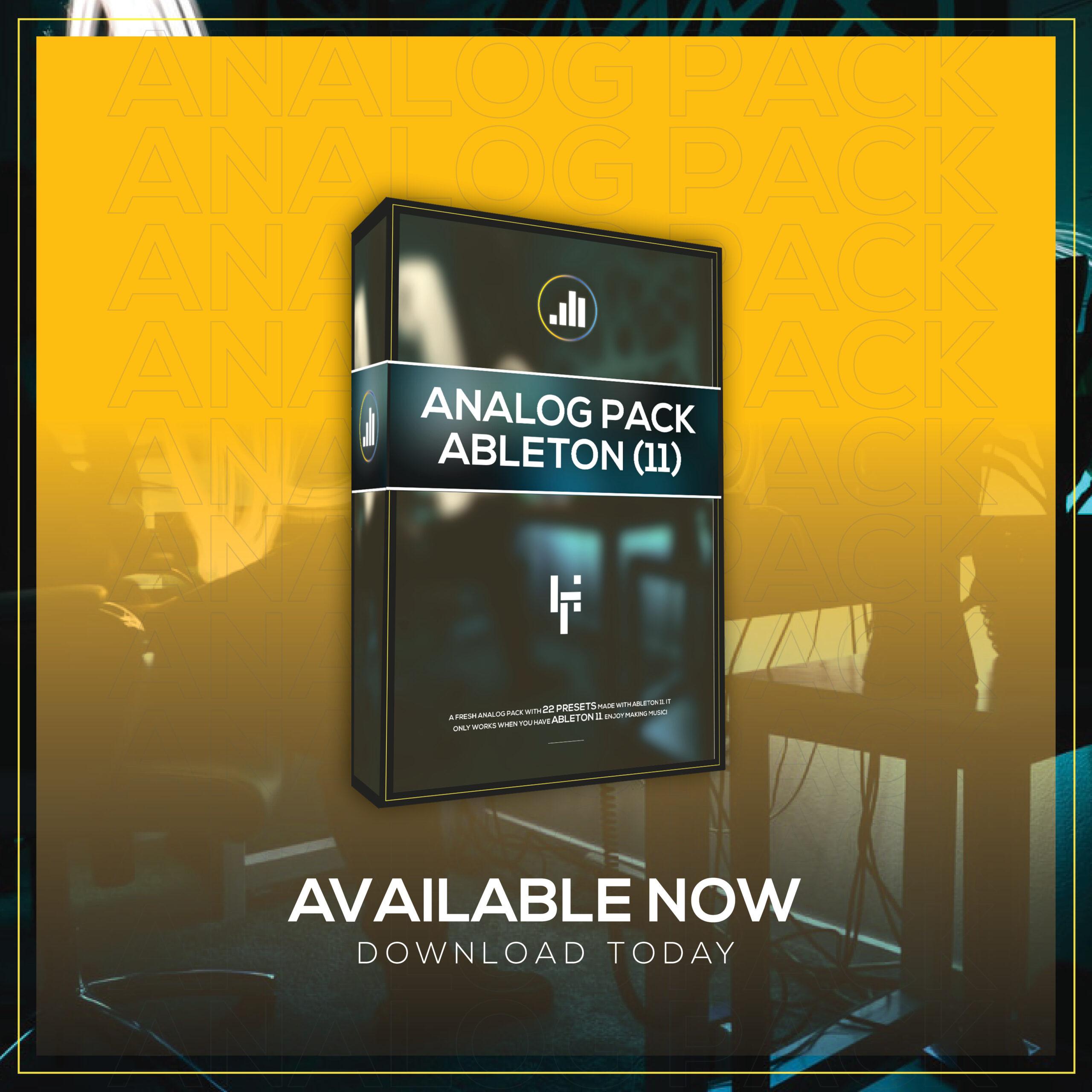 Analog Pack (Ableton 11)